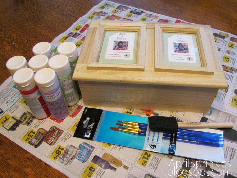 April Sprinkles: Mother's Day keepsake box gift idea