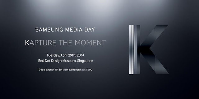Samsung Galaxy K press invite