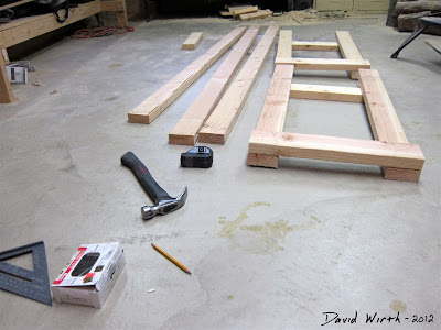 how to make a work bench, woodshop, wood 2x4, cheap and strong