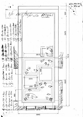 Plano de distribución del trabajo en acero corten