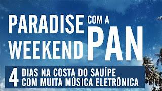 """Promoção """"Paradise Weekend com a PAN"""""""