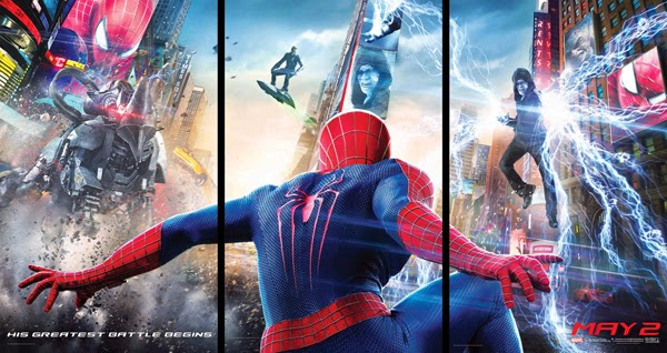 """Tráiler y poster de """"The Amazing Spider-Man 2: El Poder de Electro"""""""