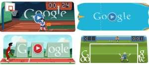 Giochi Olimpiadi Google interattivi