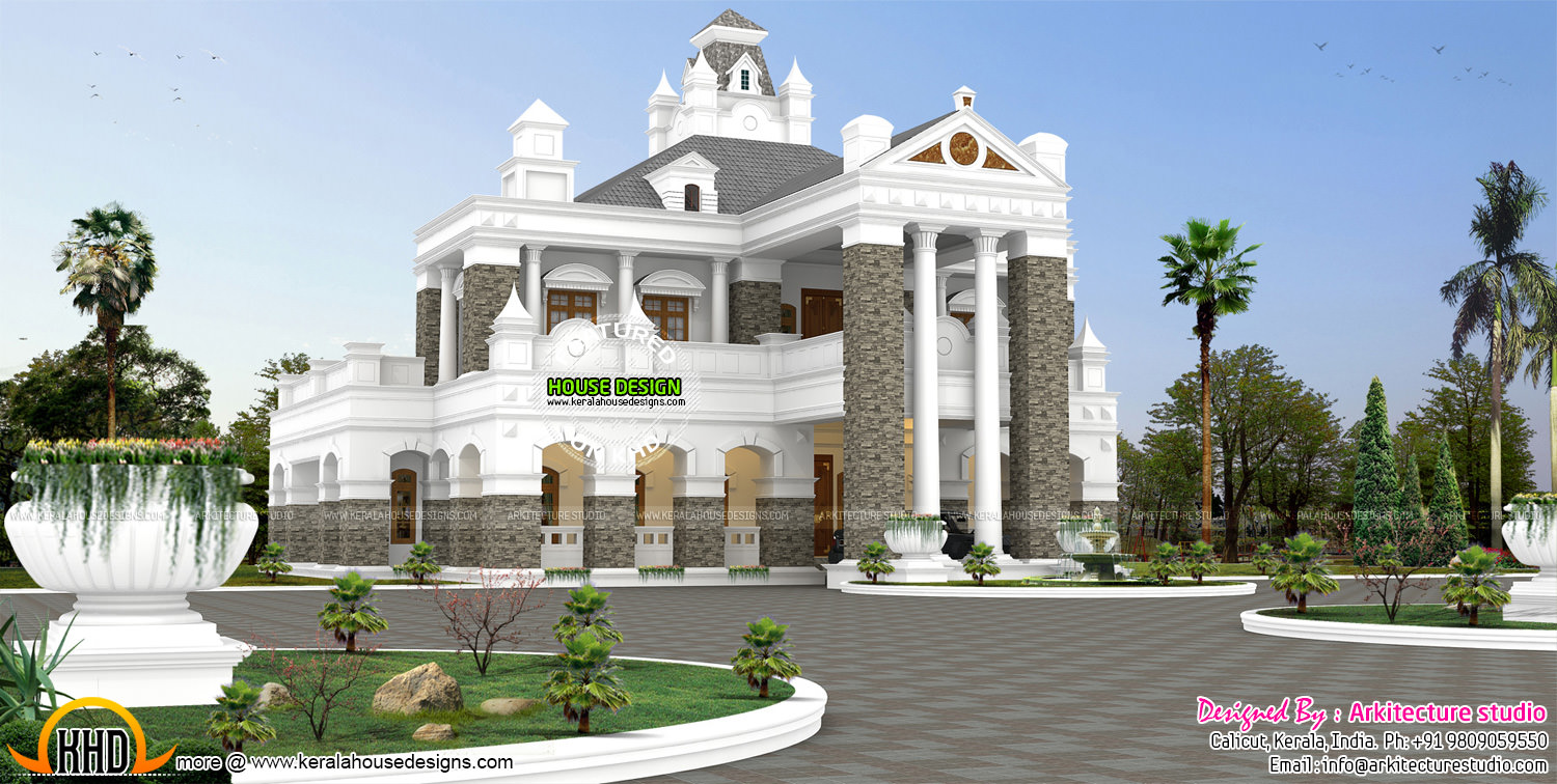 Colonial style houses in kerala home design and style for Colonial style homes in kerala