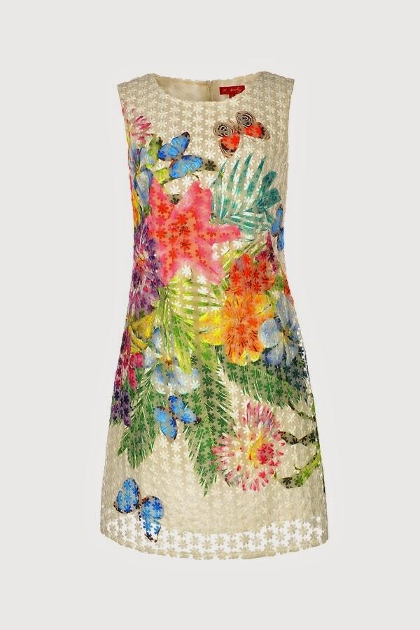 Φορεμα οργαντζα φλοραλ