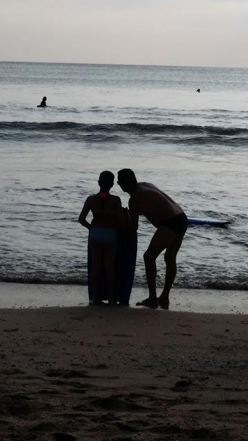 Body board en Kuta