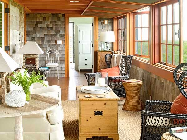 All in the detail a place on the porch for Sun porch ideas