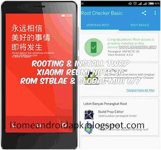How to Root together with Install TWRP Xiaomi Redmi Note  How to Root together with Install TWRP Xiaomi Redmi Note 3G ROM MIUI 7