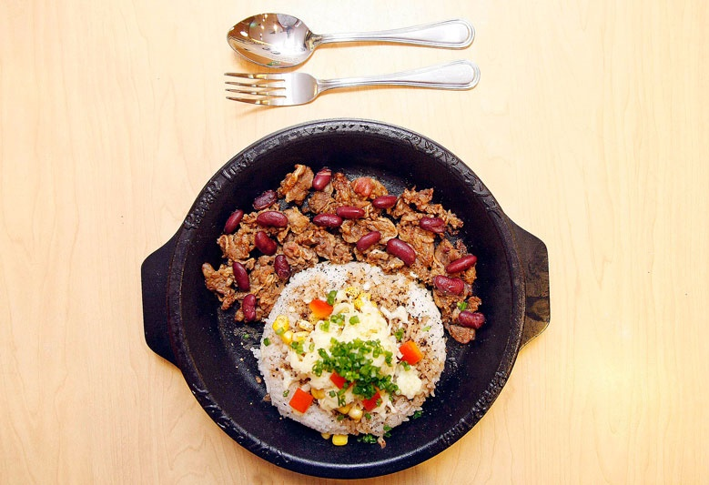 Pepper Lunch's Taste the World Dishes Burrito Beef Pepper Rice