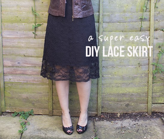 DIY lace skirt