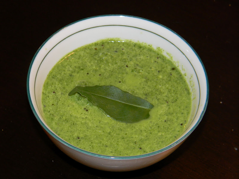 how to make green chutney for dosa