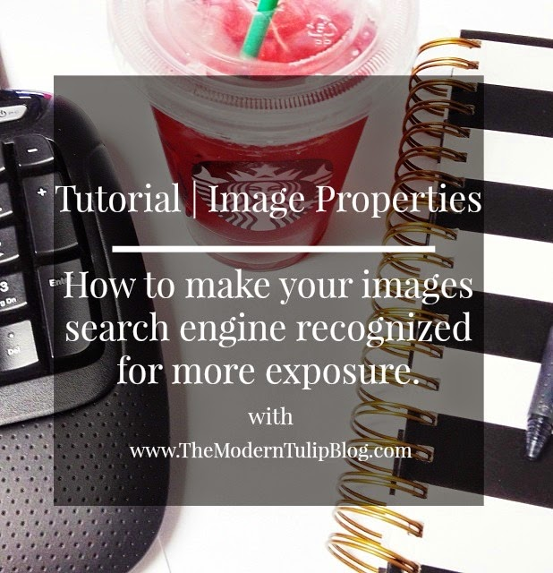 Tutorial on Image Properties