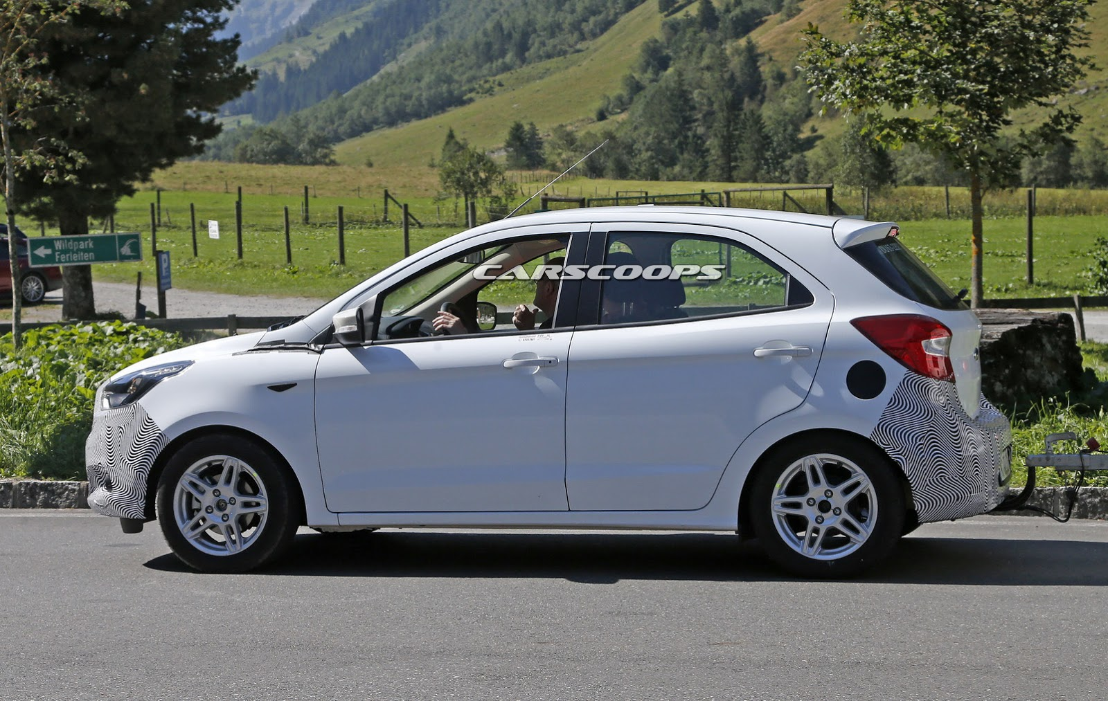 Ford Spied Testing New 2016 Ka On European Soil Carscoops