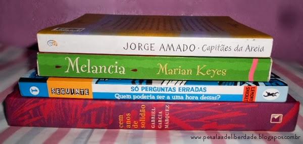 Livros de Setembro, Capitães de Areia, Melancia, Quem poderia ser a uma hora dessas, Cem Anos de Solidão, resenha, caixa de correio