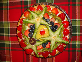 American fruit tart. Photo (C) 2010 by Maja Trochimczyk