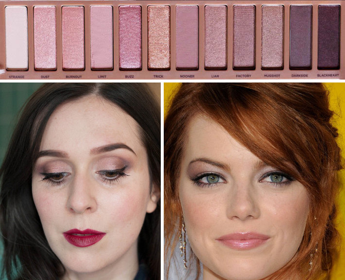 Naked 3 palette on cool vs warm skintone
