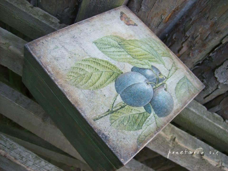 inspirujący blog decoupage - przetarło sie środowe inspiracje na Eco Manufaktura