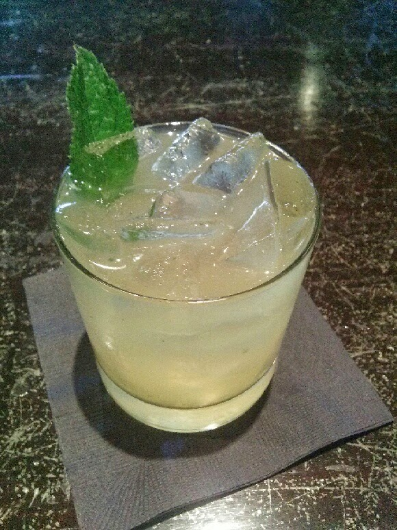 The Bee Sting Smash at Lock & Key Whiskey Bar