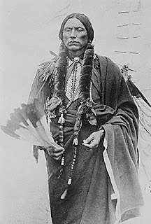 Quanah of the Comanche native indian tribe