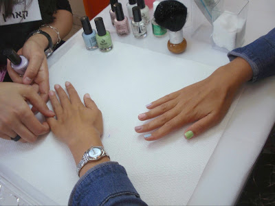 Seche Polishes Launch Event אירוע השקה pastels