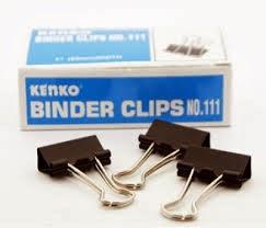 binder clip 111