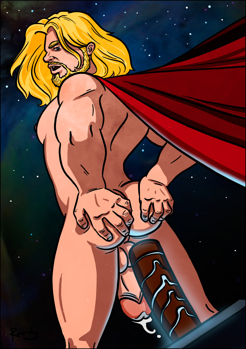 from Vance gay thor cartoon