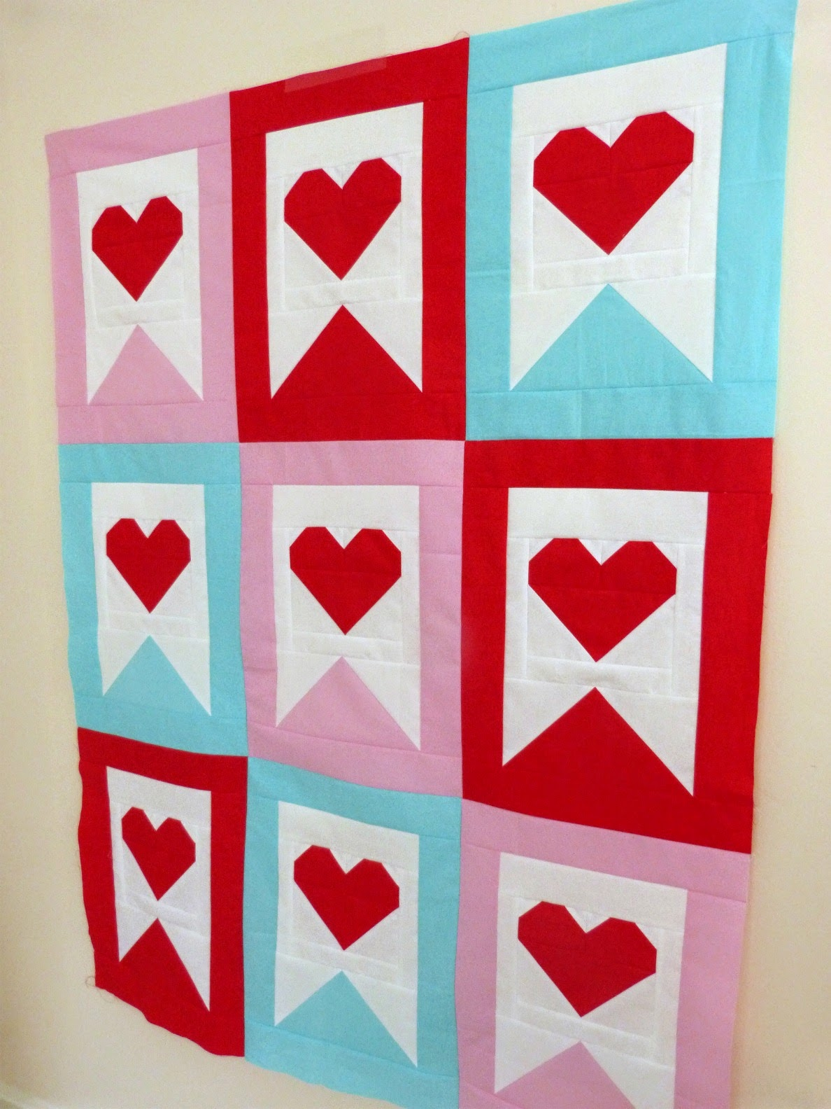 Sweet Surrender Valentine's Day Quilt Pattern