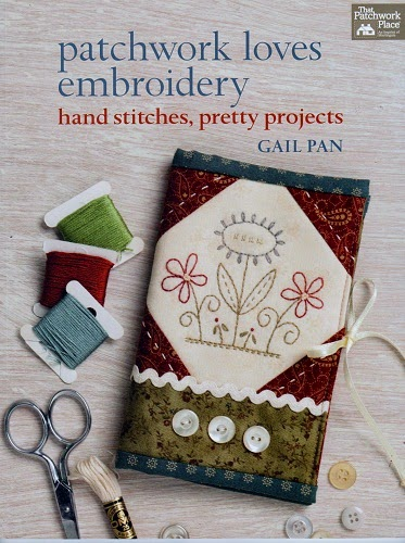 Flott Stitcherybok fra Gail Pan