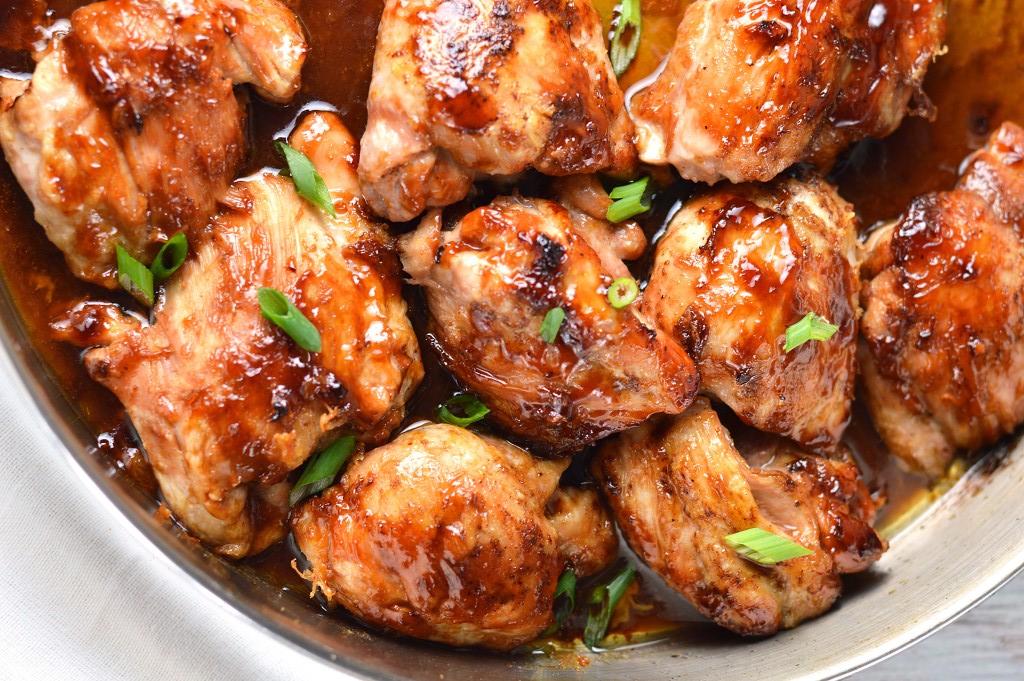 Pan Roasted Maple Soy Glazed Chicken Recipe - Kusina Master Recipes