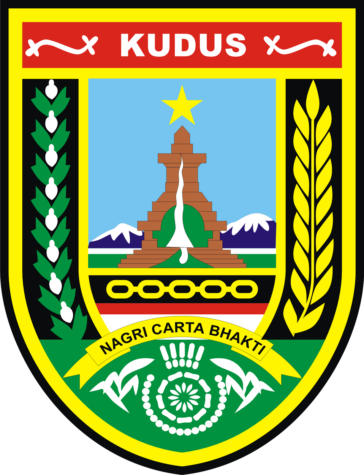Kudus Indonesia  city pictures gallery : Logo Kabupaten Kudus Provinsi Jawa Tengah Logo Lambang Indonesia