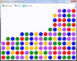 لعبة ضرب الفقاعات BubblePop 1.0