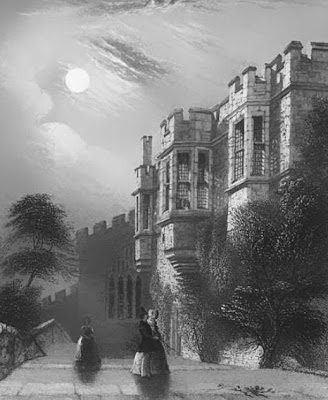 Haddon Hall from Evenings at Haddon Hall  edited by Baroness EC de Calabrella (1846)