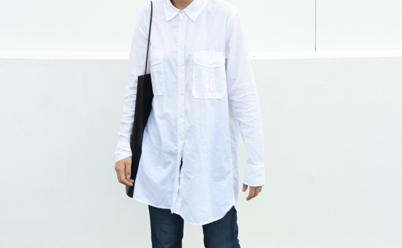 white-boyfriend-shirt-austin-texas-blogger-austinblogger-oversized-jcrew-buildingblock-bag-white-shirt-and-denim