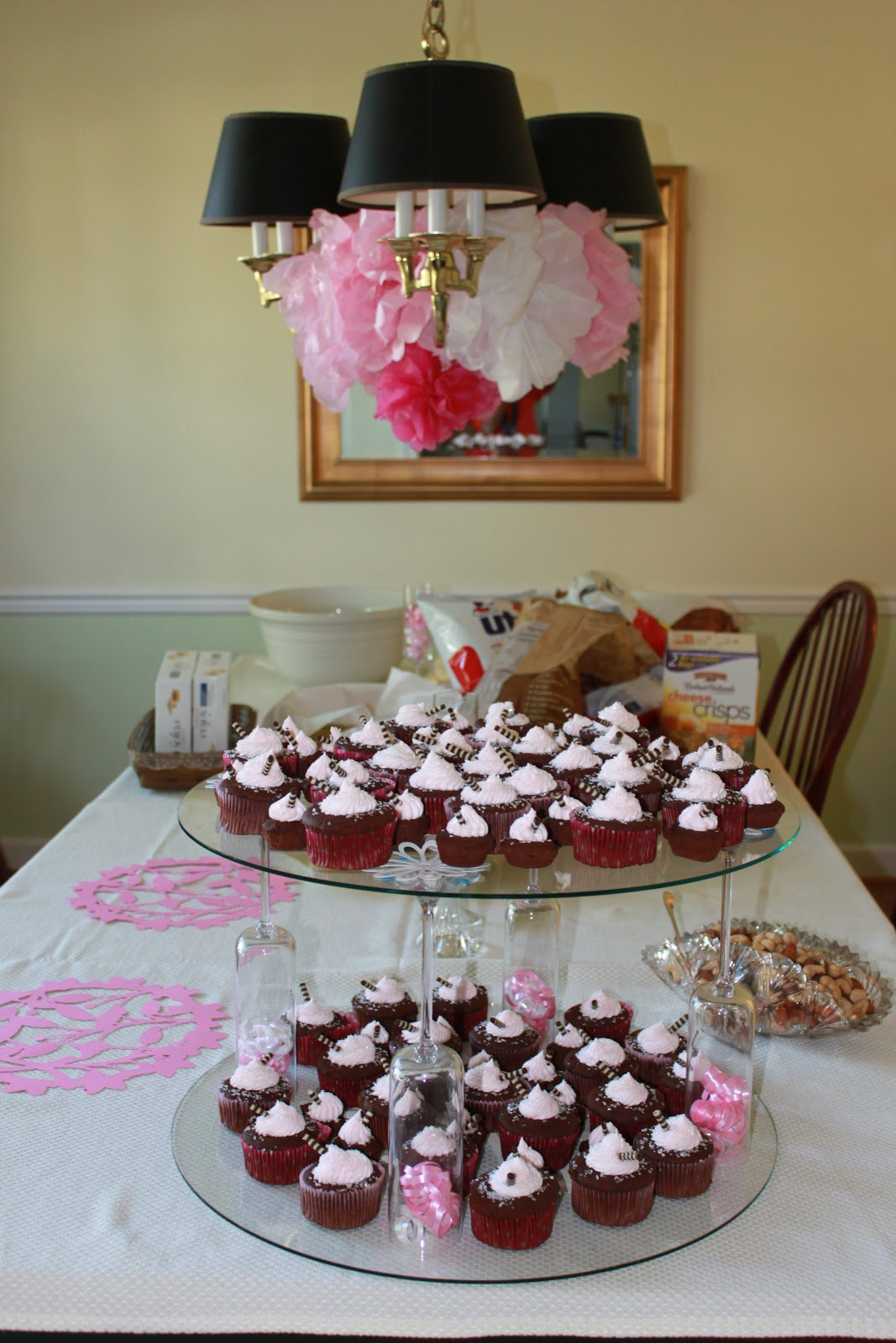 howsewears diy cupcake stand. Black Bedroom Furniture Sets. Home Design Ideas