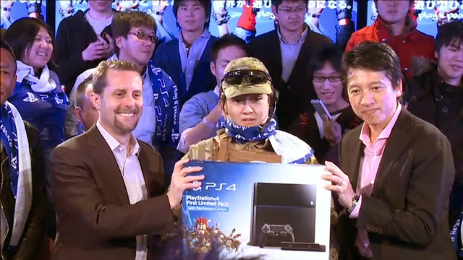 PS4日本発売