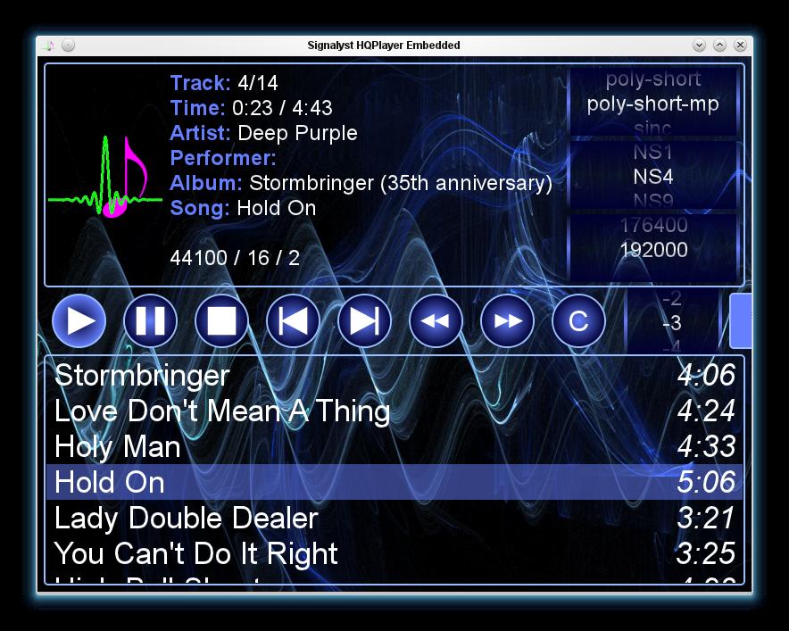 HQPlayer+Embedded HQPlayer Embedded v2.8.2.2