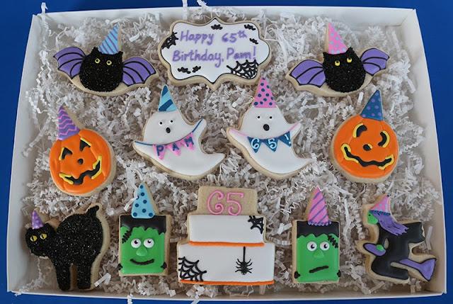 Halloween-themed birthday gift
