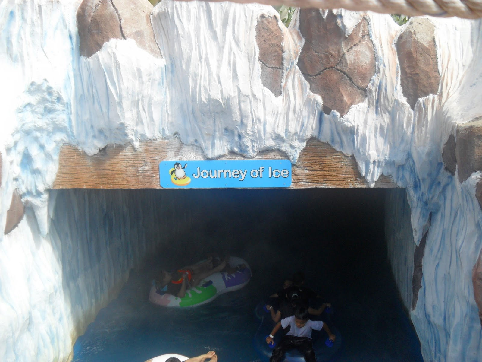 Ice journey - Bukit Gambang Water Park