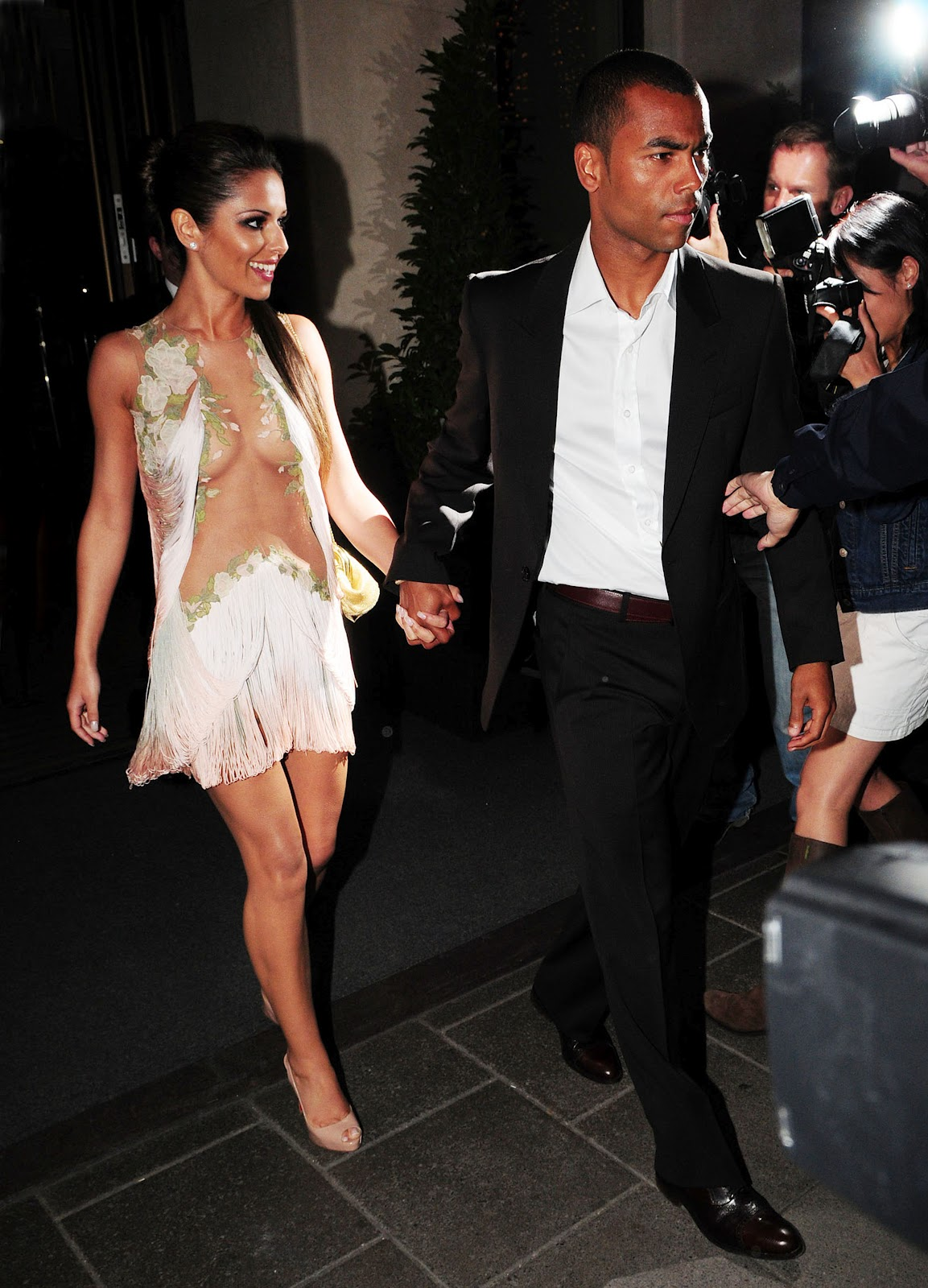 All stars cheryl cole and her husband ashley cole pictures in 2012