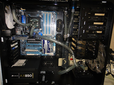 Water Cooled PC in Graphite Series 600T picture 17