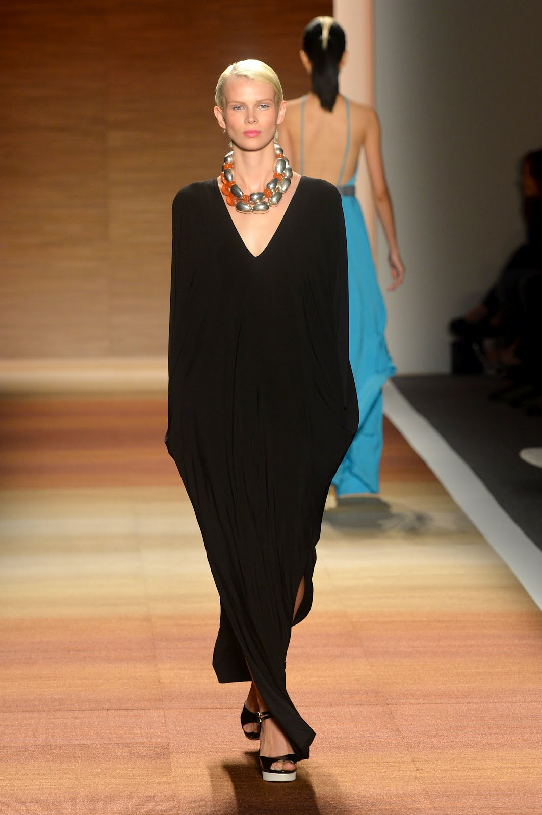 the wright wreport mbfw day 2 brilliant color spotlight on photos by mike coppola getty images