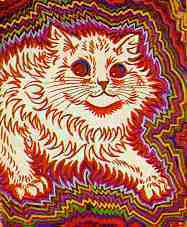 Louis Wain pinturas y esquizofrenia