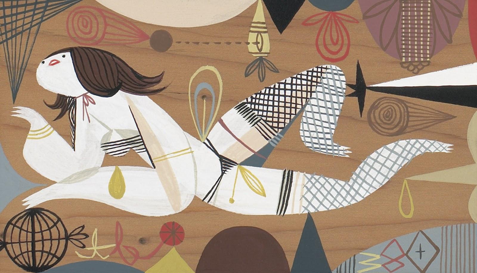 Doctor Ojiplático. Tim Biskup. Painting | Pintura