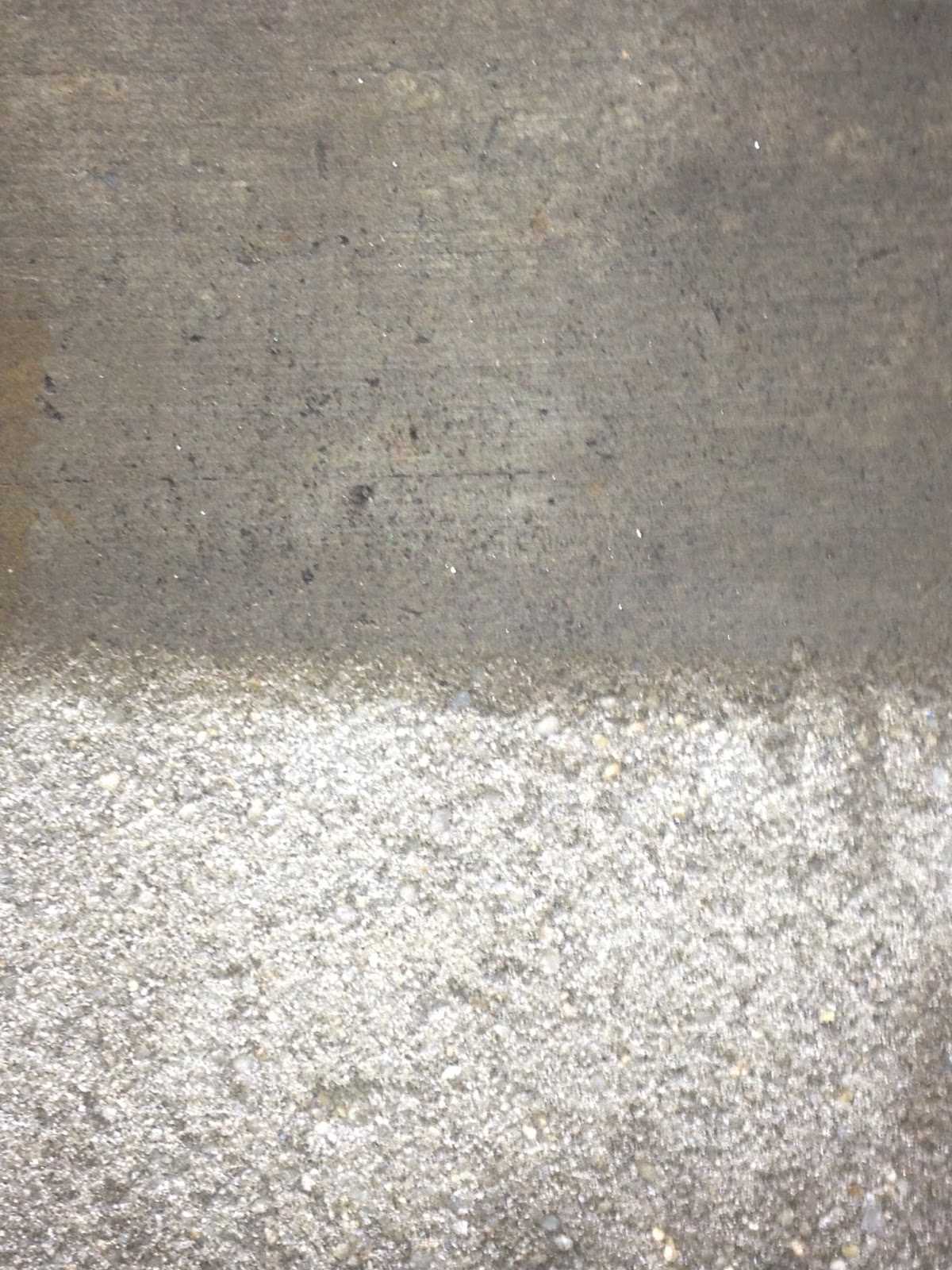 how to fix a slippery concrete floor