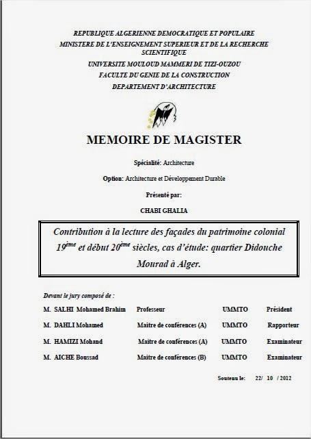l architecture traditionnelle en algerie pdf