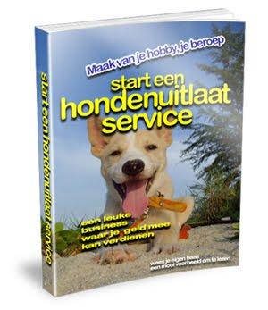 Start nu een honden uitlaat service.