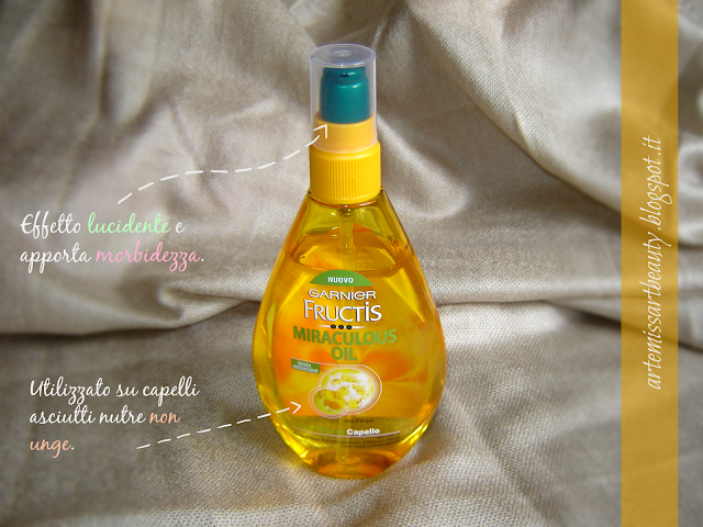 Garnier Frucutis Oil Repair 3 olio
