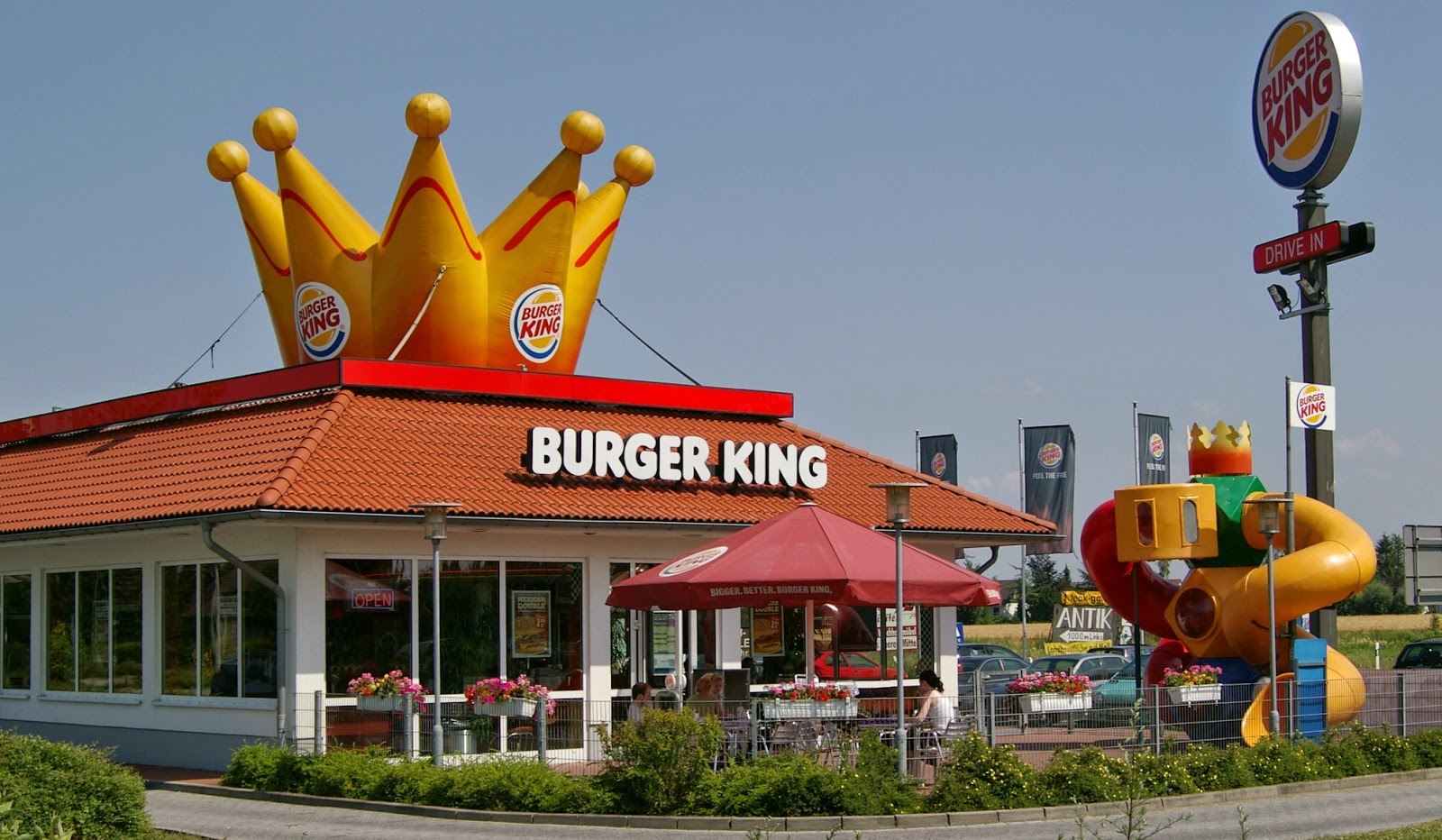Lanchonete fast food Burger King Miami Orlando