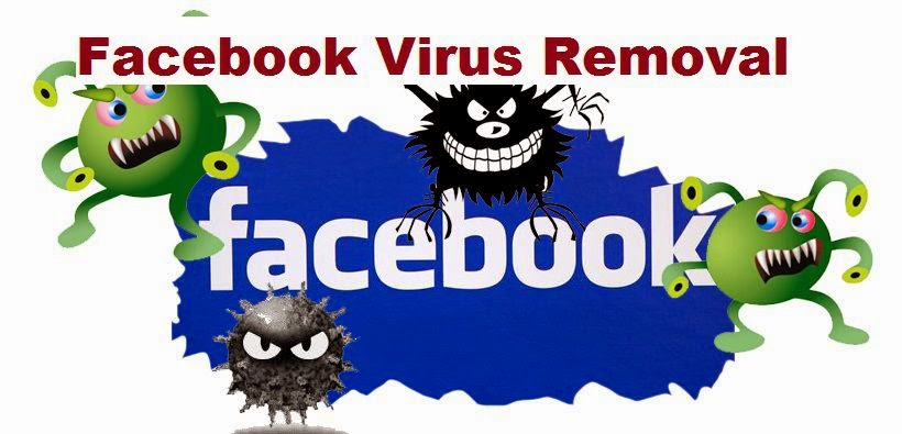 Facebook Virus Removal Method image photo