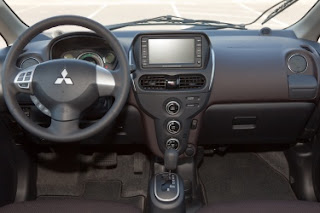 2012 Mitsubishi i interior - Subcompact Culture